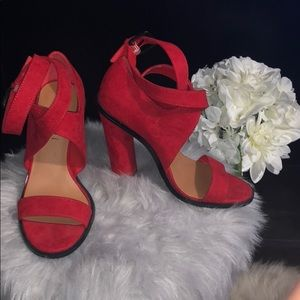 Nasty gal Shoe Cult red heel